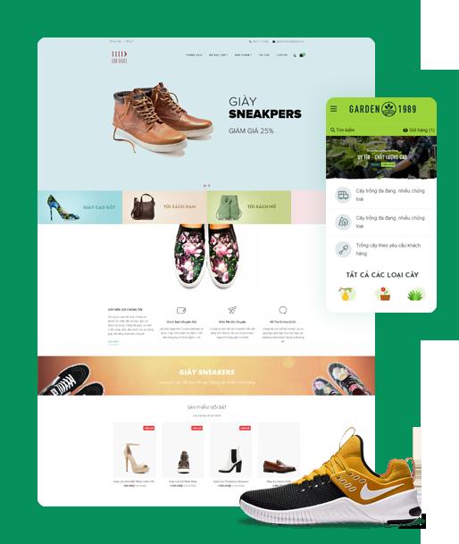 Thiết kế website chuyên nghiệp tại Ekoizi Software