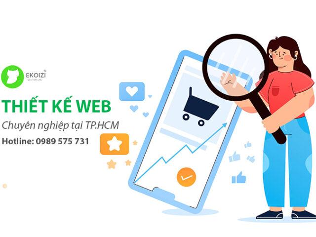 Thiết kế web chuyên nghiệp tại tp Hồ Chí Minh