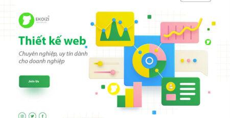 Thiết kế web chuyên nghiệp uy tín dành cho doanh nghiệp
